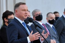 Andrzej Duda o decyzji TK ws. aborcji: Prawo nie może nakazywać kobiecie tego typu heroizmu [ROZMOWA RMF]