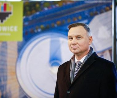 Andrzej Duda o IEM-ie: W przyszłym roku wygłodniali uczestnicy zjawią się gremialnie