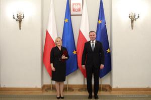 Andrzej Duda powołał Joannę Misztal-Konecką na prezes Izby Cywilnej Sądu Najwyższego