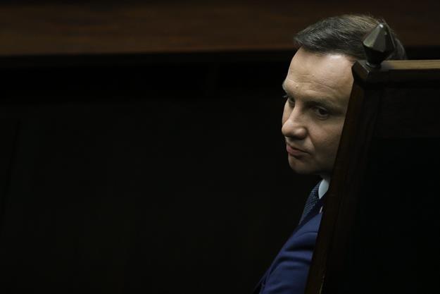 Andrzej Duda, prezydent RP, proponuje ustawę o pomocy frankowiczom. Fot. Sławomir Kamiński /AGENCJA GAZETA