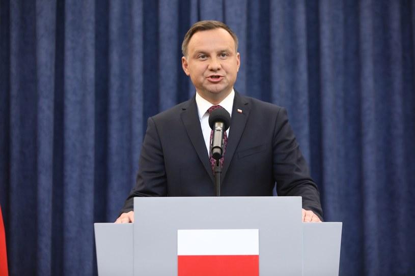 Andrzej Duda spotka się z I prezes Sądu Najwyższego /STANISLAW KOWALCZUK /East News
