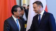 Andrzej Duda spotkał się z szefem chińskiej dyplomacji