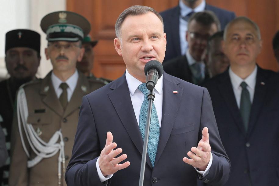 Andrzej Duda stwierdził, że atak na Marka Magierowskiego to wyraz wrogości wobec Polski /Paweł Supernak /PAP