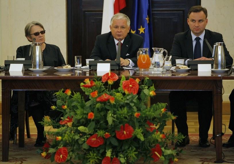 Andrzej Duda u boku prezydenta Lecha Kaczyńskiego /Andrzej Stawiński /East News