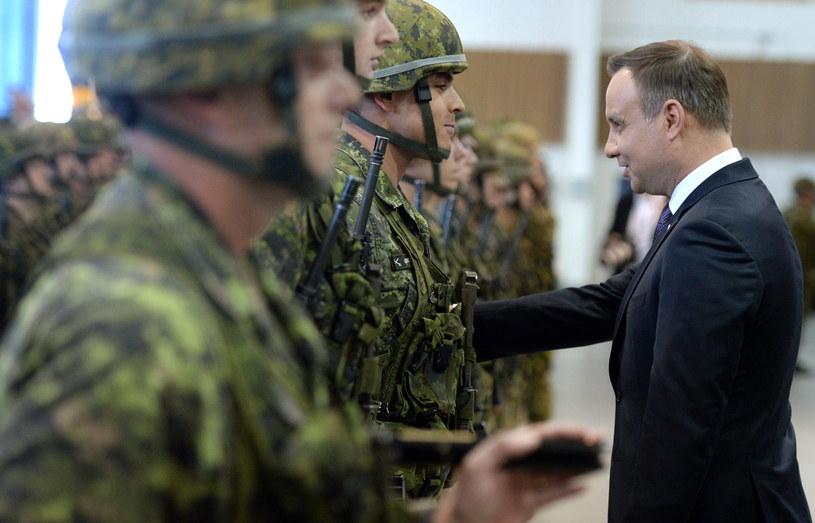 Andrzej Duda w Kanadzie /Jacek Turczyk /PAP