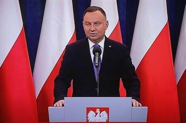 Andrzej Duda wydał oświadczenie. Nie odniósł się jednak do wyborów