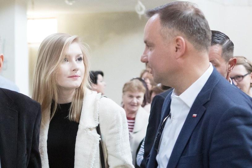 Andrzej Duda z córką Kingą /Łukasz Gagulski /East News