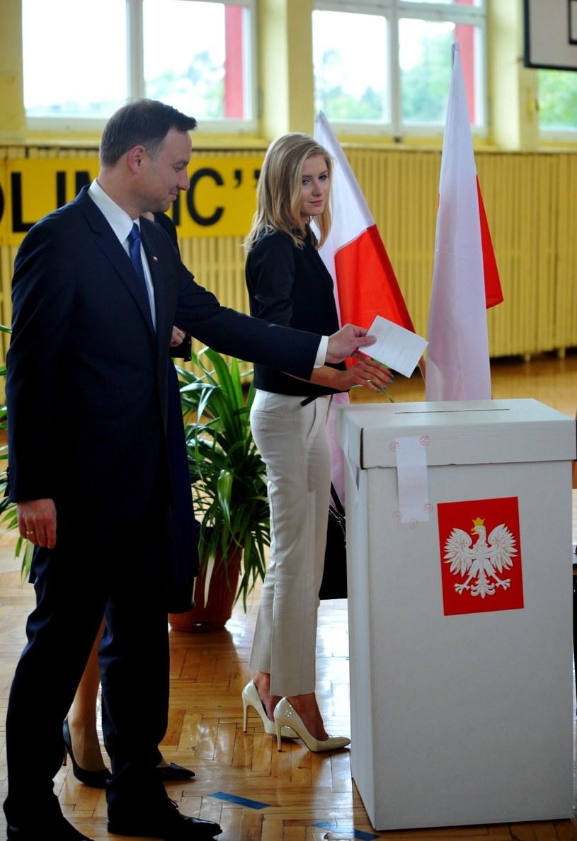 Andrzej Duda z córką /Marek Lasyk  /Reporter