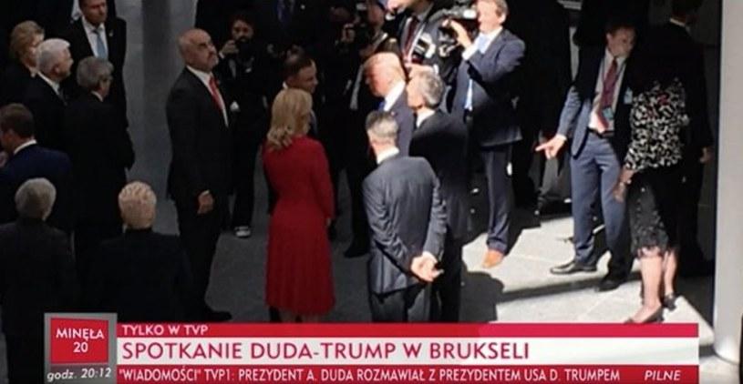 Andrzej Duda z Donaldem Trumpem /Twitter
