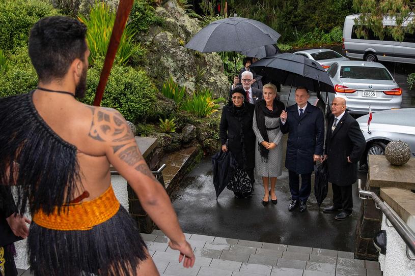Strzelanina W Nowej Zelandii Film Image: Agata Duda Zadała Szyku W Nowej Zelandii. I Jeszcze To