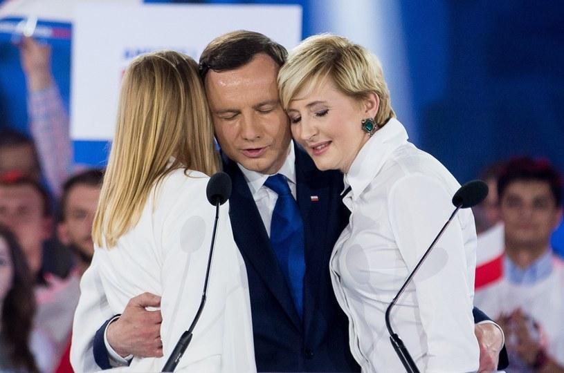 Andrzej Duda z rodziną /- /East News