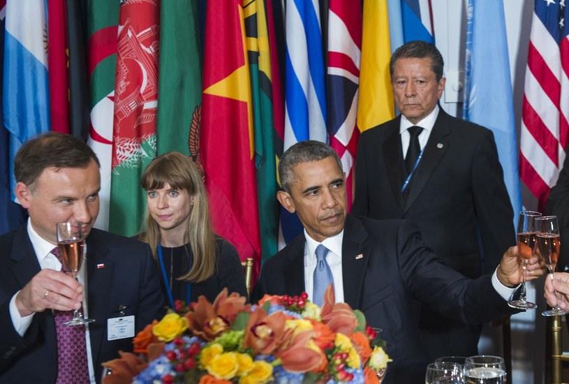 Andrzej Duda z wizytą w USA /zdj. archiwalne /UN Photo/Amanda Voisard/pool /East News