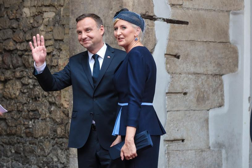 Andrzej Duda z żoną, Agatą Kornhauser-Dudą /Anna Kaczmarz /East News