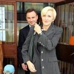 Andrzej Duda z żoną Agatą