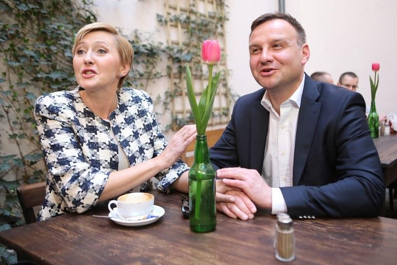 Andrzej Duda z żoną /Tomasz Radzik /East News