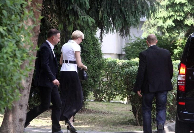 Andrzej Duda z żoną /Jacek Kozioł /Agencja SE/East News