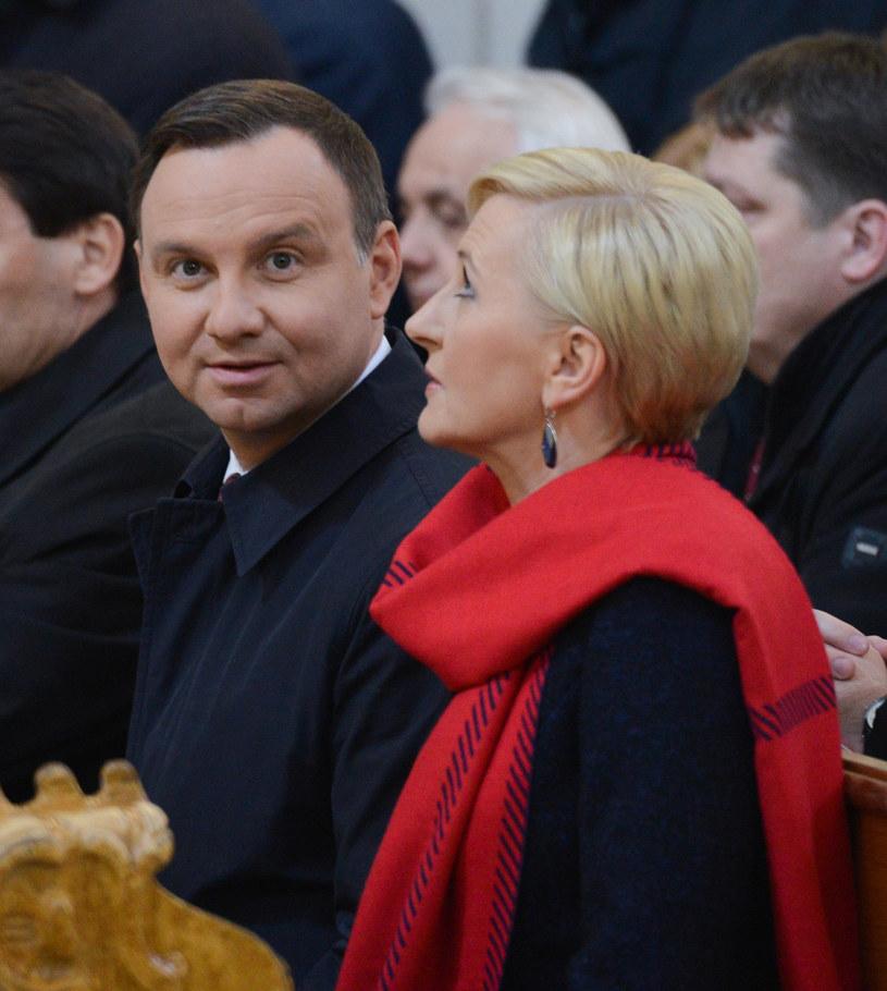 Andrzej Duda z żoną /Adam Staśkiewicz /East News