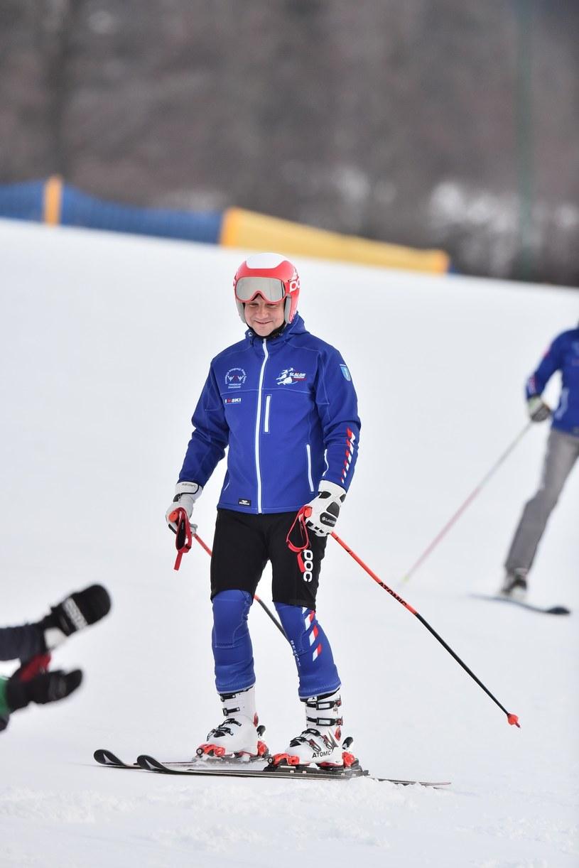 Andrzej Duda zimą w górach /Mateusz Jagielski /East News