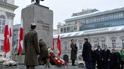 Andrzej Duda złożył kwiaty przed pomnikiem Witosa