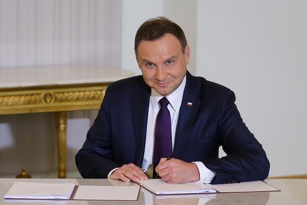Andrzej Duda złożył obiecany projekt ustawy /PAP