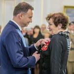 """Andrzej Duda złożył życzenia aktorce filmu """"Smoleńsk"""""""