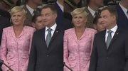Andrzej Duda znudzony defiladą?