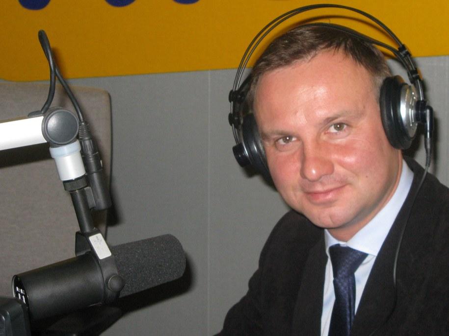 Andrzej Duda /Maciej Nycz /RMF FM