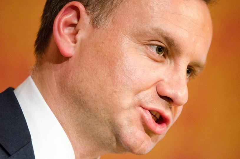 Andrzej Duda /Łukasz Piecyk /Reporter