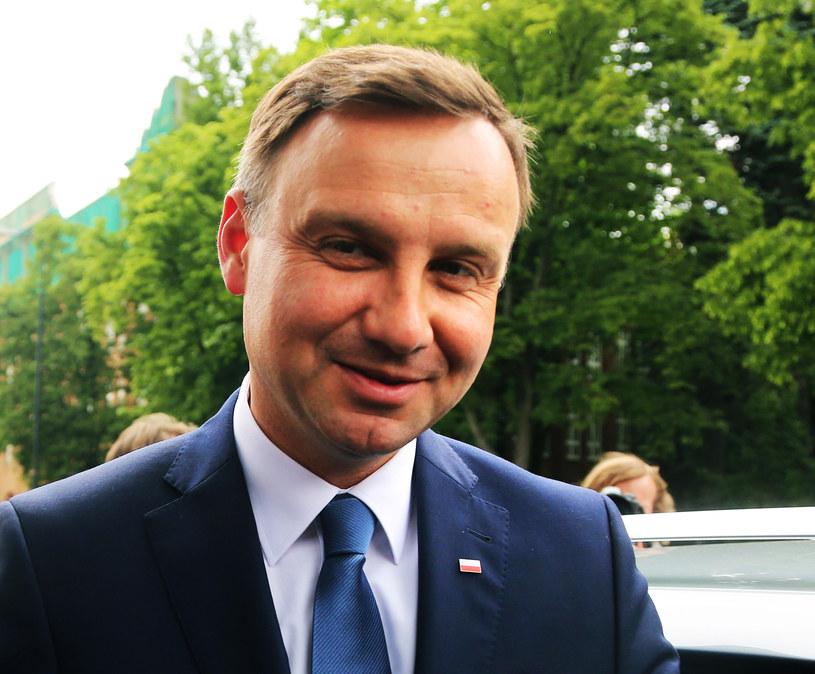 Andrzej Duda /Grażyna Myślińska /Agencja FORUM