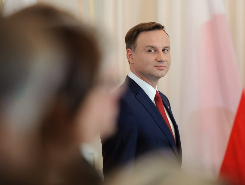 Andrzej Duda /Rafal Oleksiewicz /Reporter
