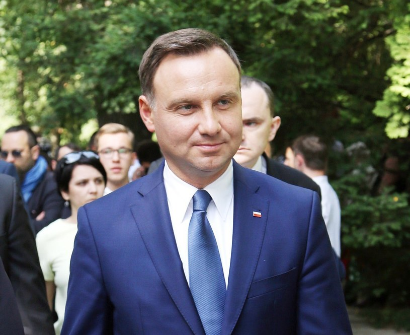 Andrzej Duda /Mariusz Grzelak /Reporter