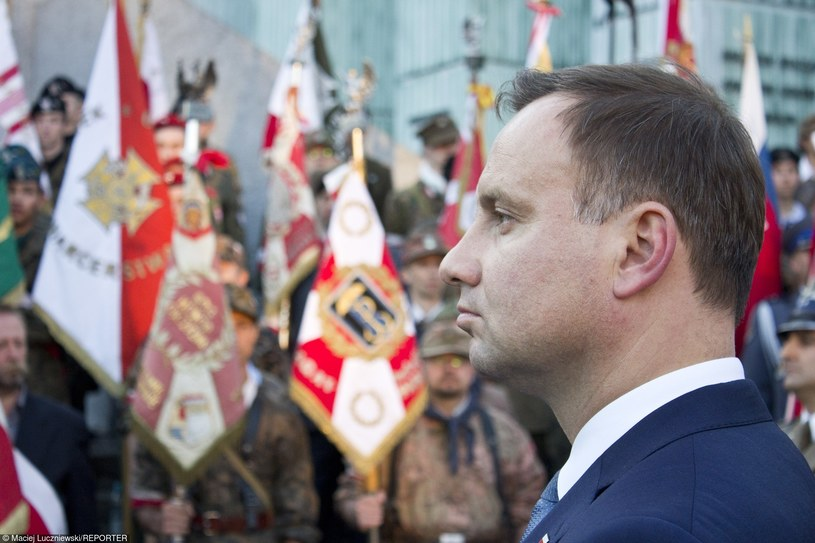 Andrzej Duda /Maciej Luczniewski/REPORTER /East News
