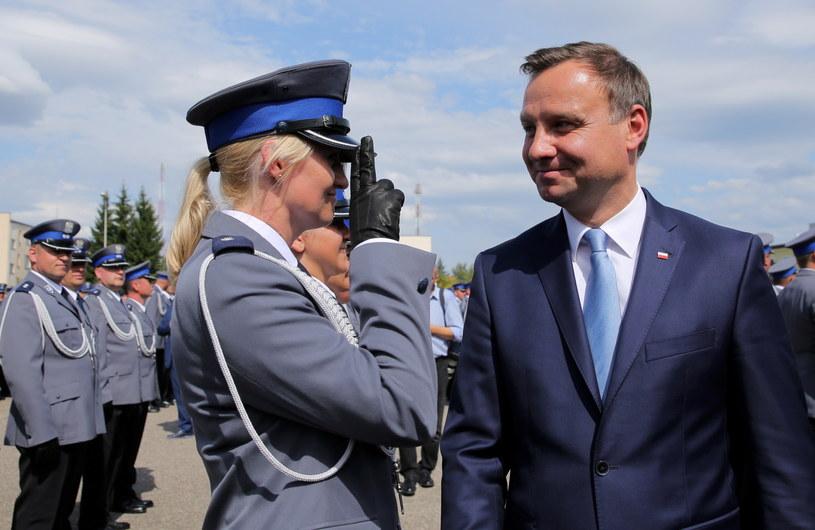 Andrzej Duda /Tomasz Waszczuk /PAP