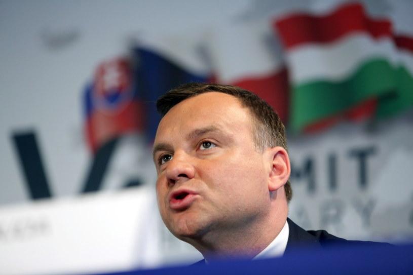 Andrzej Duda /Leszek Szymański /PAP
