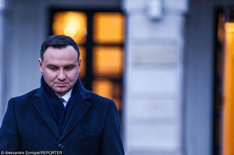 Andrzej Duda /Aleksandra Szmigiel-Wisniewska/REPORTER /East News