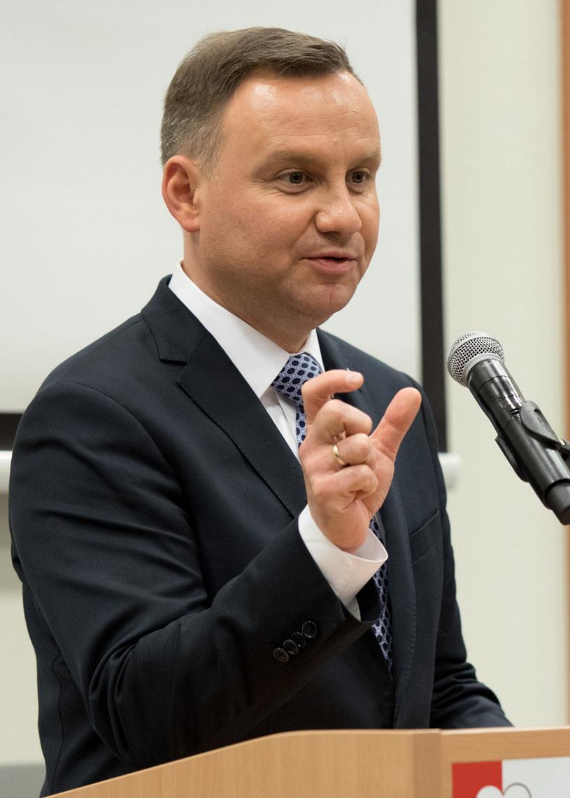 Andrzej Duda /Wojciech Grabowski /Agencja FORUM