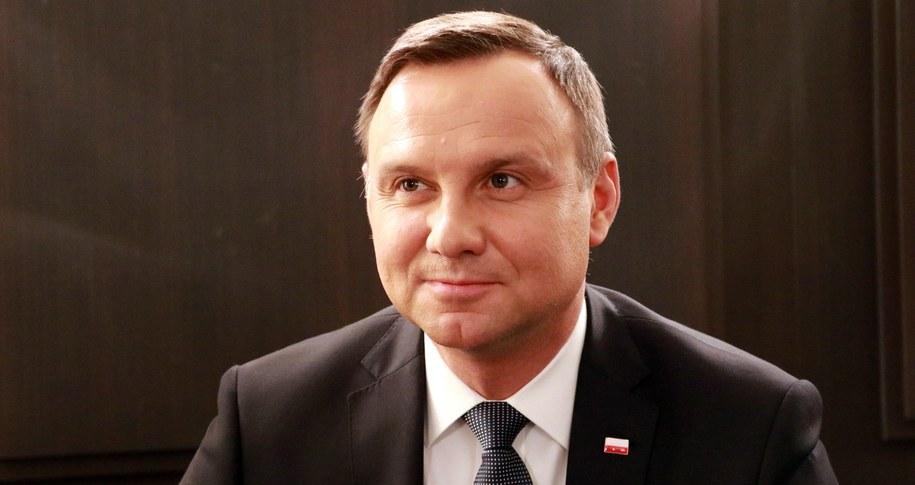 Andrzej Duda /md /Archiwum RMF FM