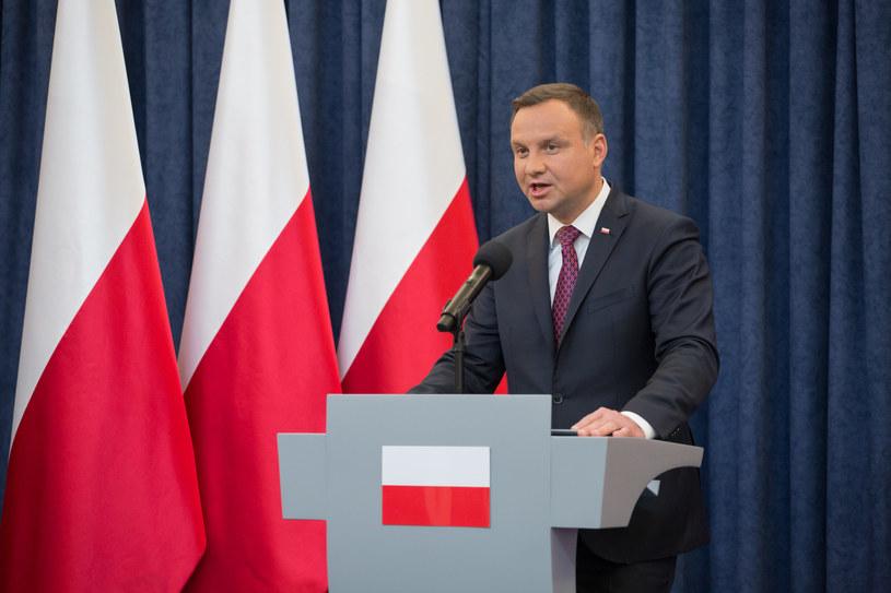 Andrzej Duda / Mateusz Wlodarczyk /Agencja FORUM