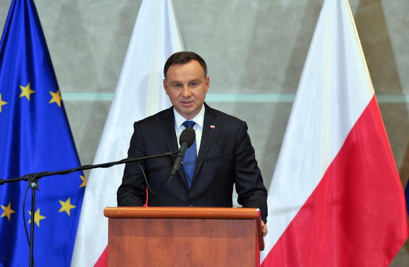 Andrzej Duda /Marcin Bielecki /PAP