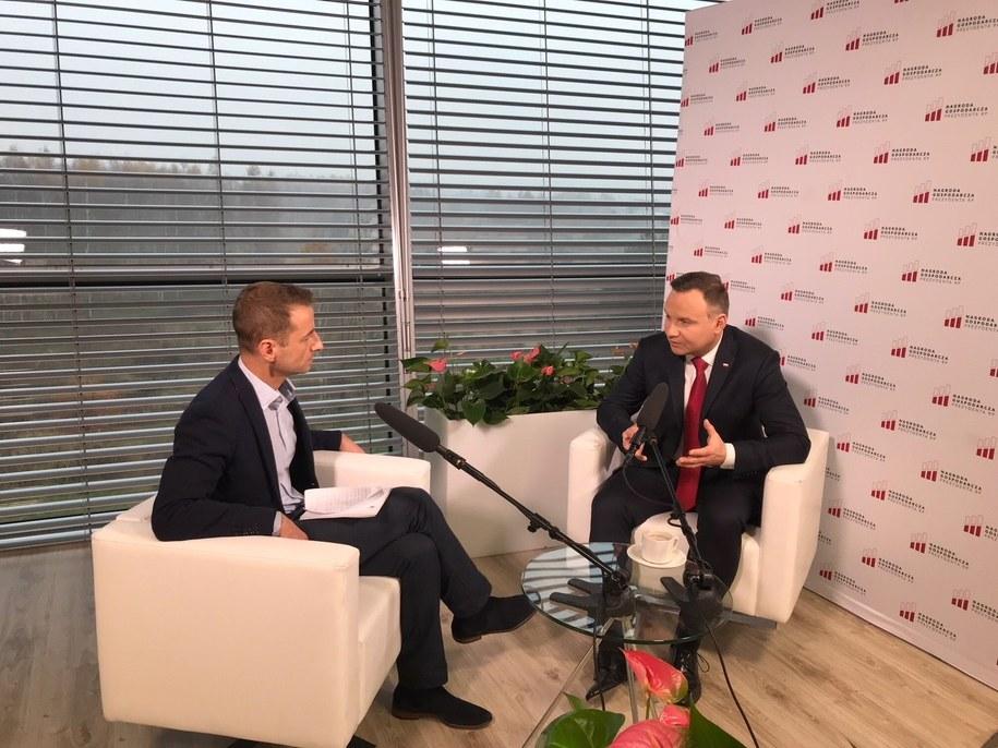 Andrzej Duda /Michał Dukaczewski /RMF FM