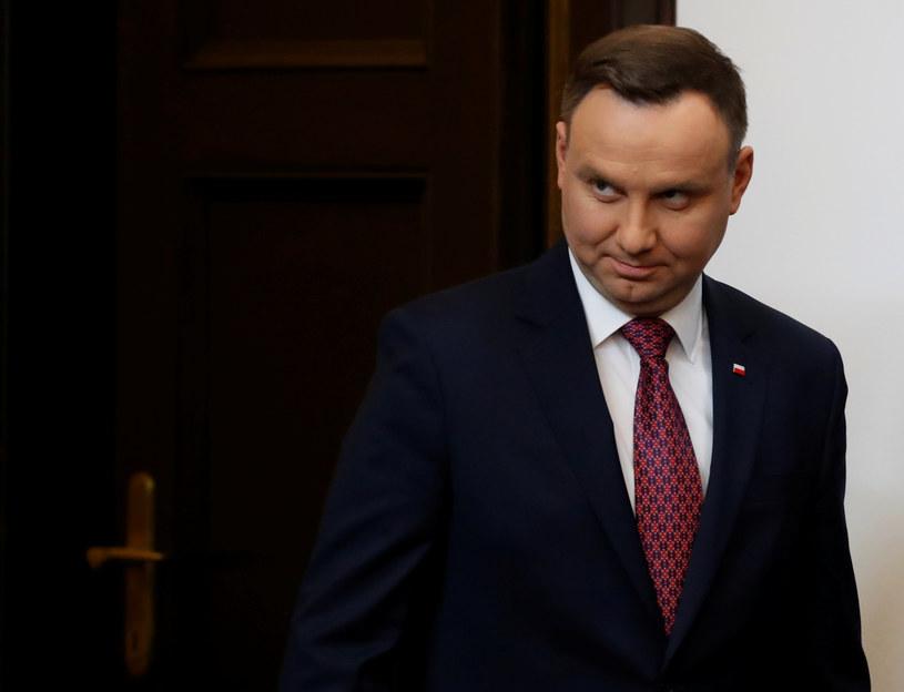 Andrzej Duda /REUTERS/Kacper Pempel /Agencja FORUM