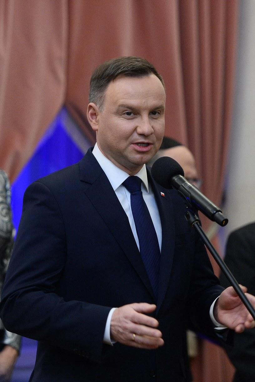 Andrzej Duda /Jarosław Antoniak /MWMedia