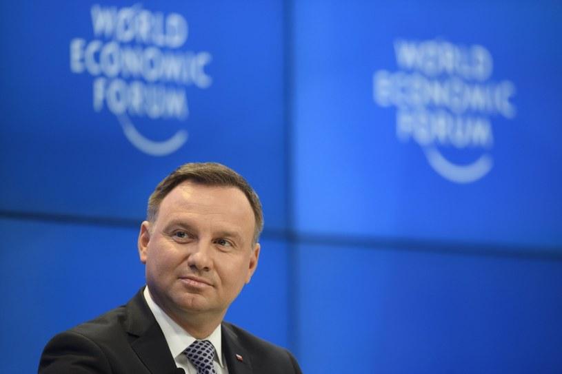 Andrzej Duda /GIAN EHRENZELLER /AFP