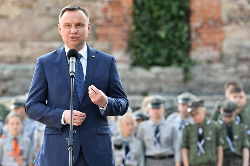 Andrzej Duda / Maciej Kulczyński    /PAP