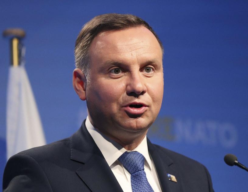 Andrzej Duda /TATYANA ZENKOVICH  /PAP/EPA