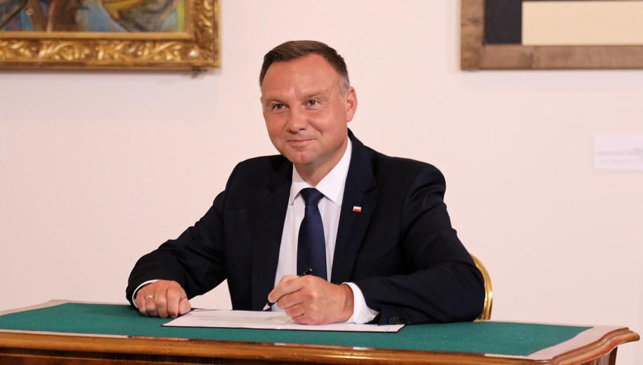Andrzej Duda /Jacek Bednarczyk   /PAP
