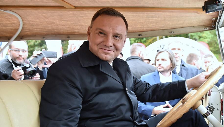Andrzej Duda /Marcin Gadomski /PAP