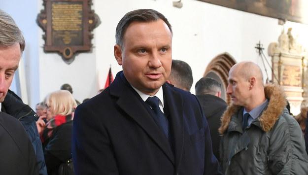 Andrzej Duda / Adam Warżawa    /PAP