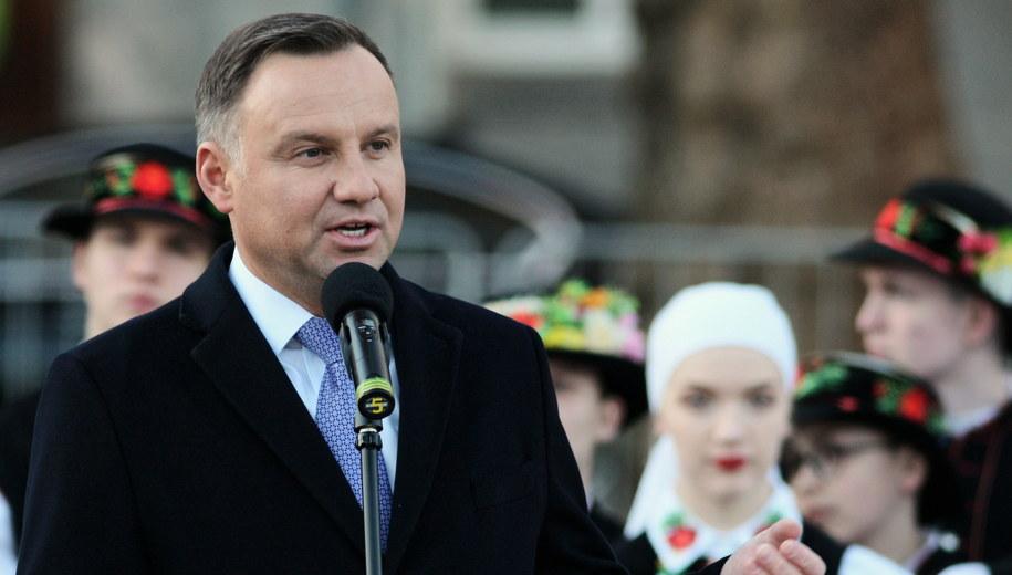 Andrzej Duda / Lech Muszyński    /PAP