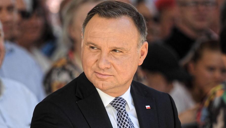 Andrzej Duda /Tytus Żmijewski /PAP